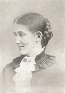 Isabella Alden shortly after her wedding