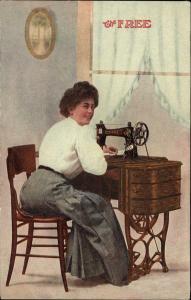 Sewing Machine 1908 edited