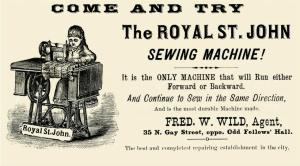 royal electric sewing machine