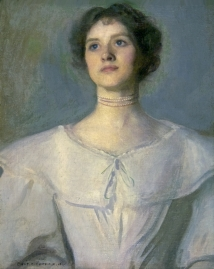 Charles Courtney Curran_Woman in White