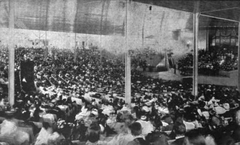 Chautauqua Amphitheater full house 1895
