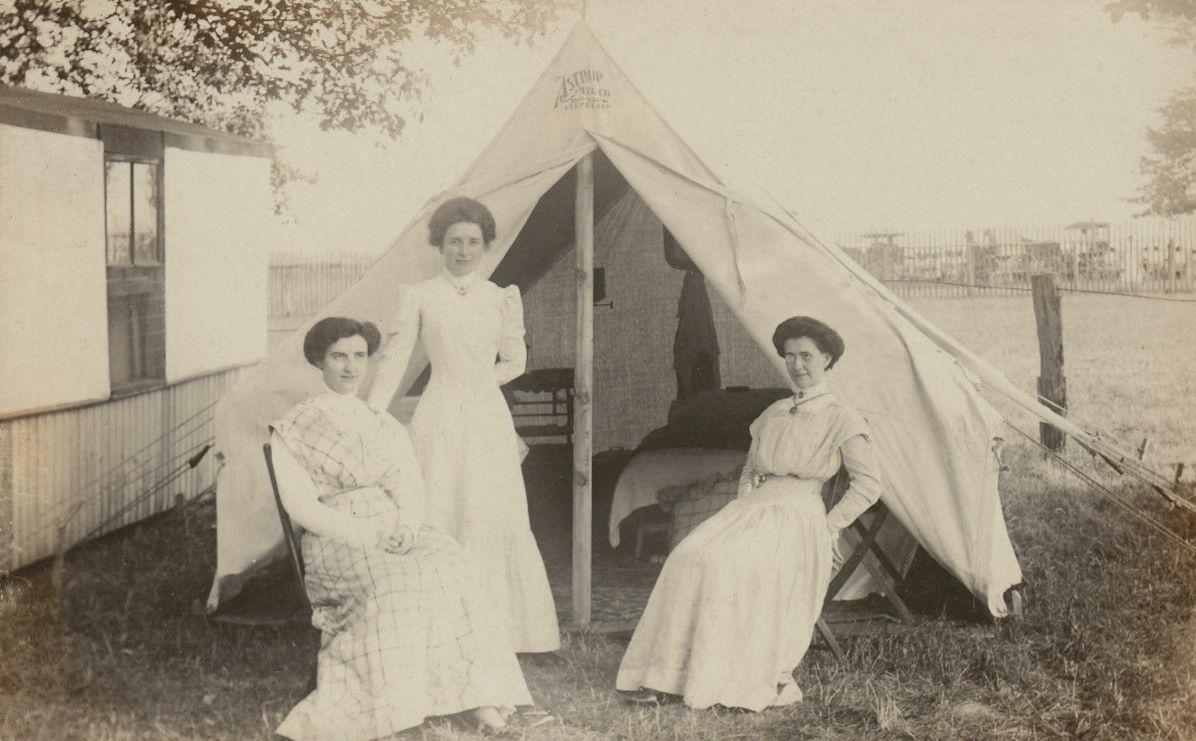 Chautauqua Tents Isabella Alden