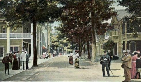 Chautauqua Clark Street 1907 edited