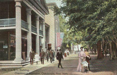 Chautauqua CLSC Building 1908 edited