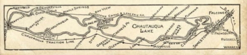 Chautauqua Lake Map 1906 edited large