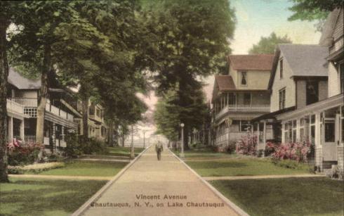 Chautauqua Vincent Avenue 1930
