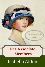 Image of e-book cover of Her Associate Members by Isabella Alden.