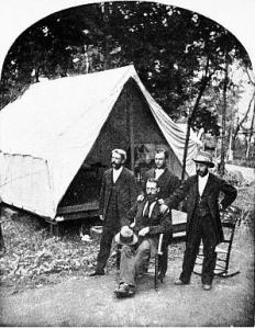 Tent Life 1875 Hurlburt Beard and Worden