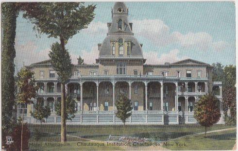 Chautauqua Athenaeum Hotel 1911