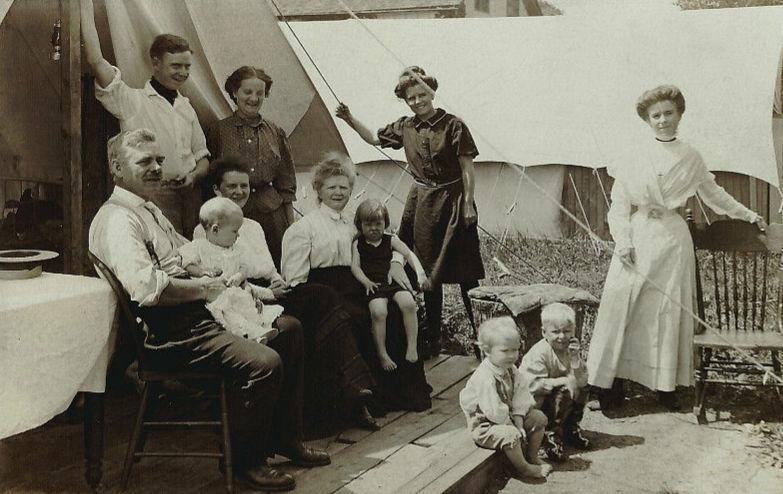 Chautauqua tent life in 1910  sc 1 st  Isabella Alden & Chautauqua Tents | Isabella Alden