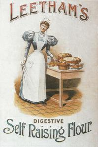 Links in Rebeccas Life-Baking flour trade card 1890
