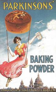 Links in Rebeccas Life-Baking Powder ad 1912