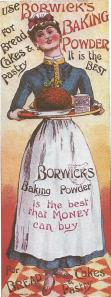 Links in Rebeccas Life-Baking powder card 1895