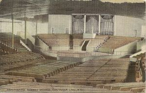 Chautauqua Amphitheater empty undated
