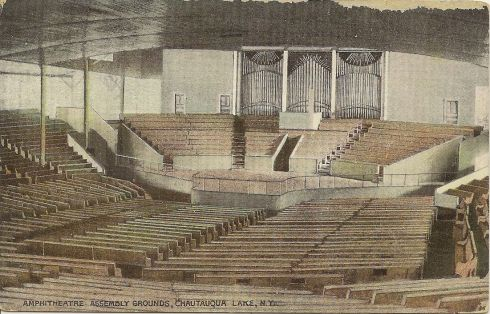 The existing Amphitheater as it appeared about 1915