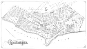 Map of Chautauqua 1874