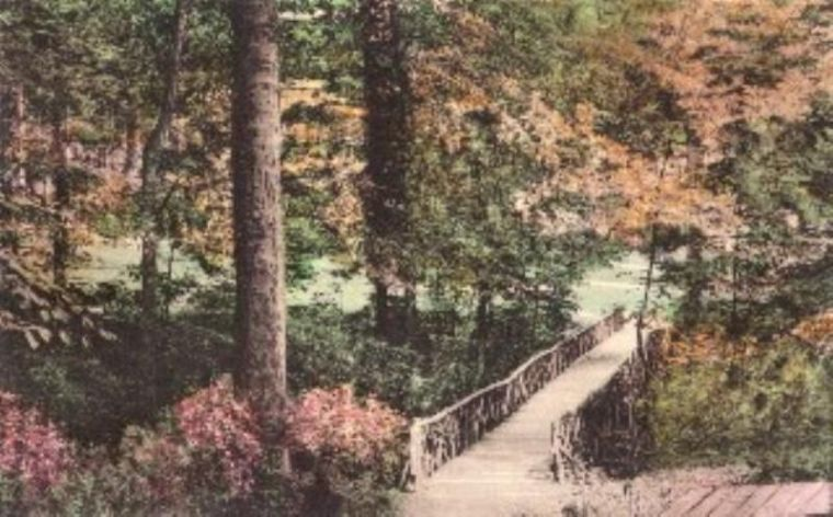 Rustic Bridge undated