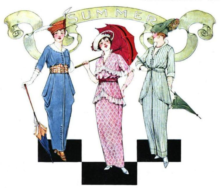 Image from the June 1914 issue of The Woman's Magazine.