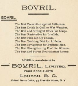 Bovril benefits ad undated