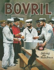 Bovril British Navy ad 1903