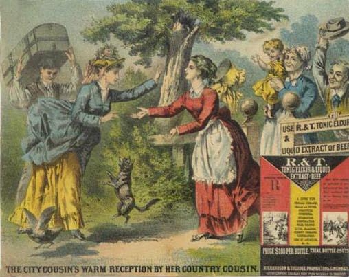 R&T Tonic Elixir ad, 1870
