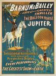 Circus Poster - Jupiter the Balloon Horse
