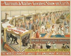 Circus Poster - Grand Ethnological Congress