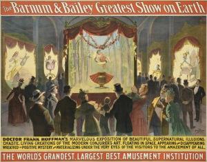 Circus Poster - Amazing Sideshow