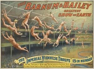 Circus Poster - Acrobats