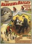 Circus Poster - Charles 1st Chimpanzee