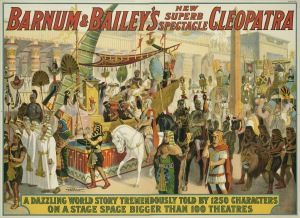 Circus Poster - Cleopatra Spectacle