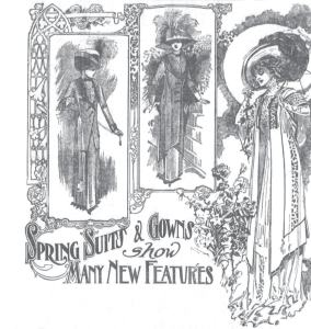 Click on this image to read the full fashion page from the March 20, 1910 edition of the Omaha Sunday Bee.