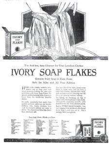 Ivory Soap ad 1920