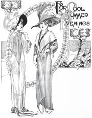 Ladies Coat Styles for Summer 1911