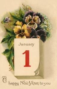 A New Year to You by Frances Brundage 1900