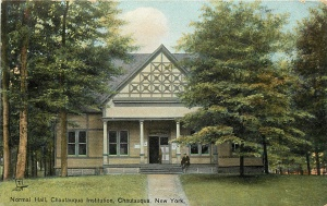 Normal Hall Exterior in 1908