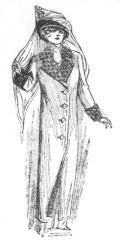 Pongee coat style in 1911