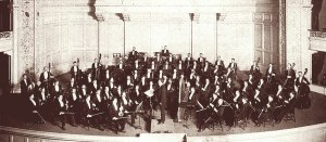 Victor Herbert conducting the Pittsburgh Orchestra in 1901
