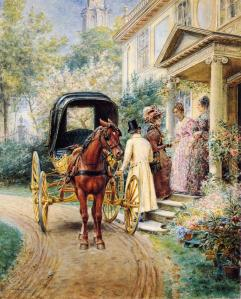 Greeting the Guest by Edward Lamson Henry