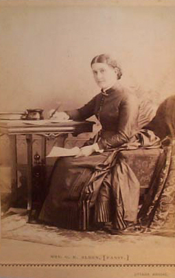 Young Isabella Alden in an undated photo