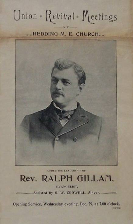 1897 newspaper announcement