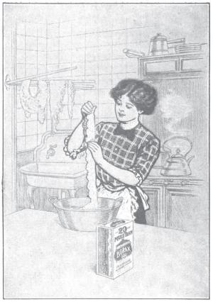 Borax ad 1915 cleaning laces