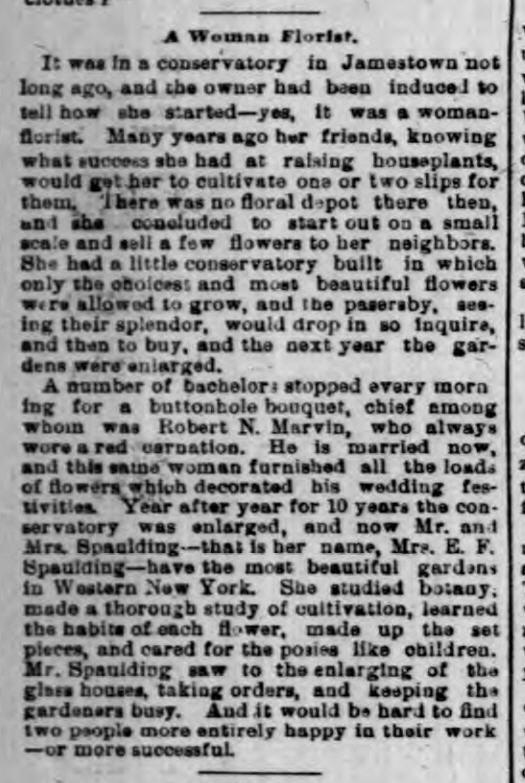 Buffalo NY Courier 1892