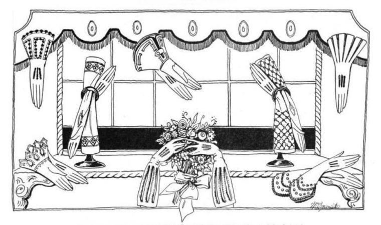 Glove Illustration
