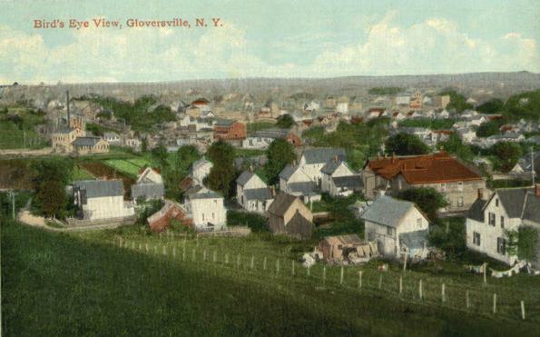 An undated postcard of Gloversville