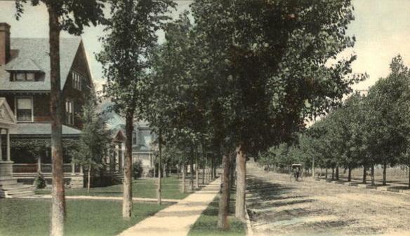 Kingsborough Avenue, about 1905
