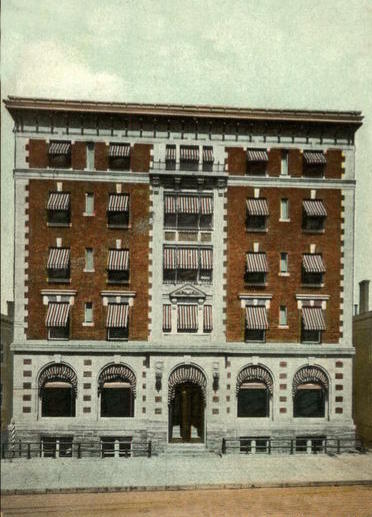 Kingsborough Hotel as it appeared in 1913