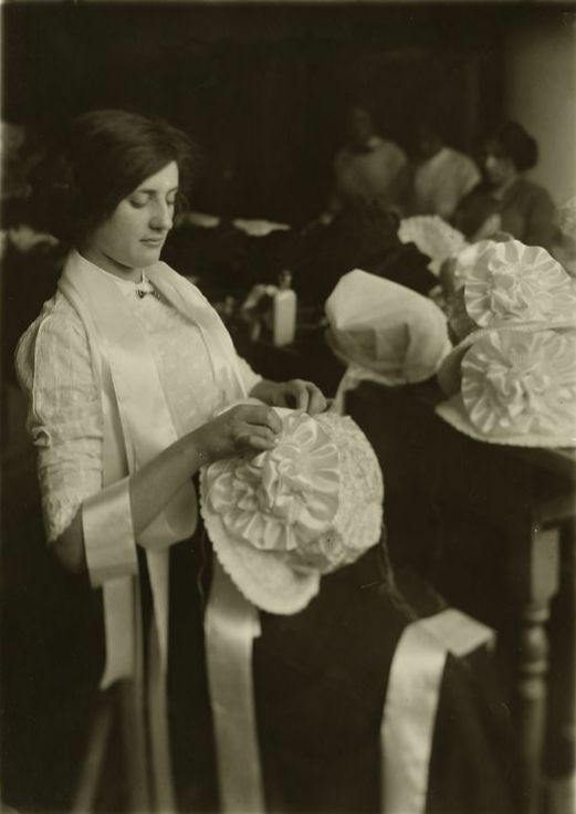 New York hat makers, 1907