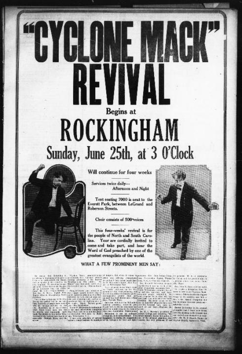 Rockingham Post Dispatch (Rockingham, North Carolina), June 22, 1922