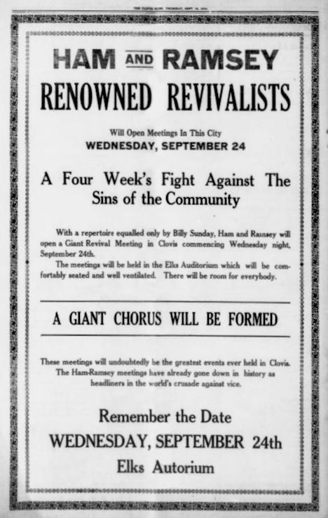 The Clovis News, September 18, 1919